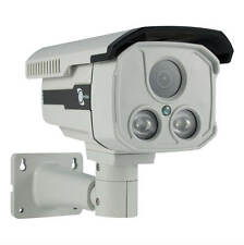 "LineMak Bullet camera, 1/3"" Sony CMOS Sensor, 1000TVL, 2 LEDs Array, IP66, OSD."