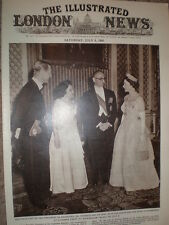 Photo article President Frondizi of Argentina with Queen Elizabeth II 1960