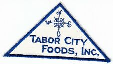 TABOR CITY FOODS INC - OLDER Vintage GROCERY STORE PATCH