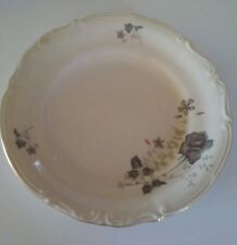 P T Tulowice China Floral Poland Set 5 Dinner Plates