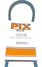"A31K Pix Belt Compatible With Craftsman 3887MA, 5032024 ,STD304310  (1/2""x33"")"