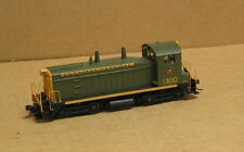 Proto/Life Like HO CNR SW1200, Green & Gold #1300 with DCC