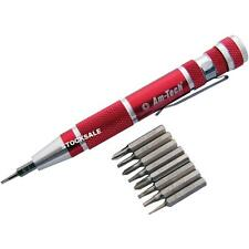 NEW 9 IN1 PRECISION MAGNETIC MINI MICRO SCREWDRIVER BIT SET TORX SLOTTED PHILIPS