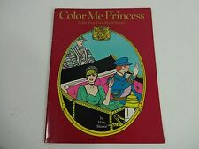 Vintage - Princess Diana: COLOR ME PRINCESS ROYAL COLORING BOOK 1982