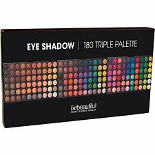 beBeautiful Professional Cosmetics Palette Eye Color Shadow Triple 180 Shades