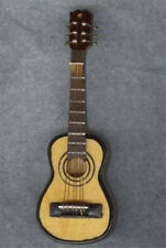Dollhouse Miniature Detailed Acoustic Guitar Miniatures for Doll House