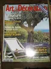 Art et Décoration N° 393 2002 Dossier les objets région par région Déco / Nature
