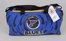 VINTAGE NWT NOS ST. LOUIS BLUES NHL POWER PLAY MAGAZINE DUFFLE TRAVEL GYM BAG
