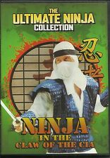Ninja in the Claw of the C.I.A. (DVD) venom mob release