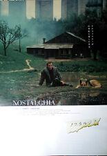 NOSTALGIA(2003R)Andrei Tarkovsky Japanese Movie POSTER