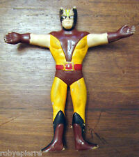 Wolverine volverine pupazzo in gomma morbida 1993 Marvel Just Toy Puppet Rubber