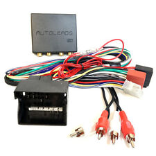 Audi A3 A4 Quadlock Amplified sys Bypass Car Stereo ISO Wiring Harness Lead