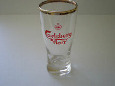 CARLSBERG BEER GLASS / HOLLAND