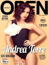 OPEN MEXICAN MAGAZINE ANDREA TORRE NOVIEMBRE 2014 REVISTA OPEN MEXICO NEW