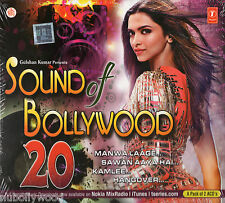 SOUND OF BOLLYWOOD 20 - 2 CD SET [HAPPY NEW YEAR, BANG BANG, EK VILLAIN, KICK]