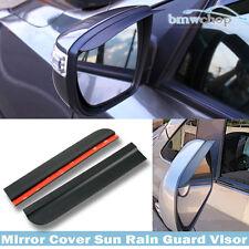 Unpainted PUF BMW F10 F30 All Vehicle Mirror Rain Visor Sun Shade Guard