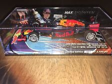Max Verstappen LTD edition 5 first win Spain  1:43  very rare sold out !!