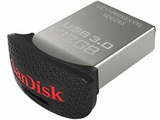 SanDisk Ultra Fit 32 GB  USB 3.0 Flash Drive (SDCZ43) 32GB Pendrive