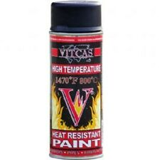 Vitcas® Heat Resistant Spray Paint 400ml Black High Temperature Wood Stove BBQ