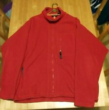PATAGONIA SYNCHILLA RED FLEECE JACKET XL EXCELLENT CONDITION