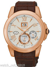 BRAND NEW SEIKO LE GRAND SPORT KINETIC PERPETUAL SNP068 ROSE GOLD PLATED WATCH