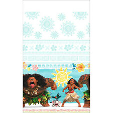 MOANA PLASTIC TABLE COVER ~ Birthday Party Supplies Decorations Disney Cloth