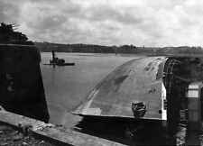 7x5 Gloss Photo ww4A6 Normandy English Channel Cherbourg 1944 95