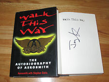 AEROSMITH Drummer JOEY KRAMER signed WALK THIS WAY 1997 1st Edition Book COA