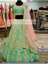 Designer Wedding Ethnic Awesome Looking Bridal Lehenga Indian Ghagra Choli