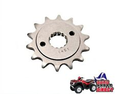 STEEL FRONT SPROCKET 13 TOOTH FOR SUZUKI LTZ 400 QUADSPORT 03-08 LTR 450 06-09