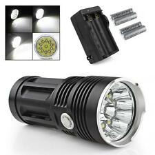 SKYRAY 20000LM 11 x XML-T6 LEDs Hunting FlashLight Torch +Smart Charger