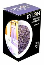 400g FRENCH LAVENDER MAUVE COLOUR DYLON MACHINE WASH FABRIC CLOTHES DYE 2 X 200g