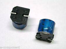Condensador Electrolítico en SMD 22uF 100V 105°C dimensiones: 8x10mm (2 Pezzi)