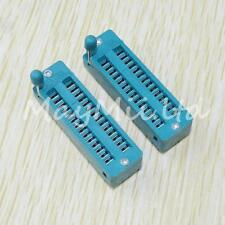 New Arrival Sales 2Pcs New Zif 28-pin 28 Pins Test Universal IC Socket Narrow H