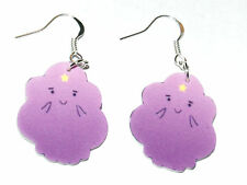 Adventure Time Lumpy the Space Princess HANDMADE Plastic Charm Earrings Cartoon