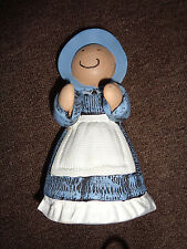 "7.5"" Tall Statuette Doll of Girl in Blue"