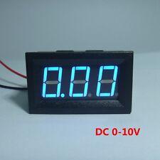 """Digital Voltmeter Battery Voltage Gauge Tester DC 10V Car Blue LED 3 Digit 0.56"""""""