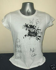 FREESTYLERS promo-only girls white cotton SIGNED T-shirt NEW/UNWORN [L]