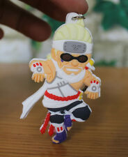 naruto killer bee silicone keychain rubber key chain gift new