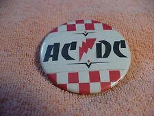 US-            AC DC  PIN BADGE  #45407