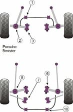 Powerflex front bush kit porsche boxster 986 1997-2004