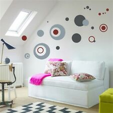 Colorful Circle PVC Art Quote Wall Stickers Wall Decals Wallpaper decor