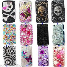 BLING COOL SPARKLE LUXURY DIAMANTE DIAMOND CASE COVER for APPLE IPOD 4 4TH 5 5TH