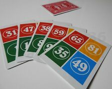 5 MATH CARD TRICK MAGIC MENTAL MIND READING NUMBER COLOUR ADD EFFECT EASY TO DO