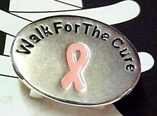 Shoe Charms Breast Cancer Pink Awareness Ribbon Walk for the Cure Athletic New