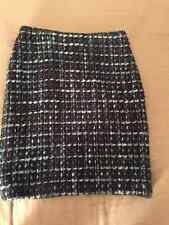 ZAPA designer woman multi-color wool vintage skirt size 36 / US 6 Made in France