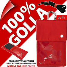 New Golla Red Phone Case Pouch Bag For iPhone 4S 5 5S Samsung Galaxy S2, S3 Mini