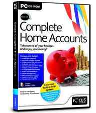 Select Complete Home Accounts Budget Tracker, Accounting PC Software CD-ROM