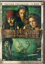 "DVD ""PIRATES DES CARAIBES : LE SECRET DU COFFRE MAUDIT"" neuf sous blister"