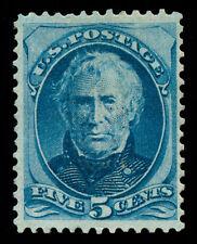 momen: US Stamps #179c Grilled Mint OG VF PF Cert